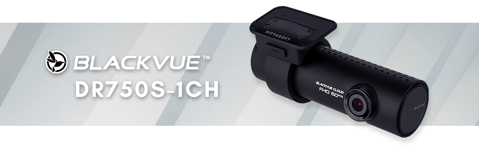 Free Bonus Includes BlackboxMyCar Surveillance Decal Blackvue BV-DR750S-1CH-16 WiFi 1080P Full HD Car DVR Recorder 16GB SD Card