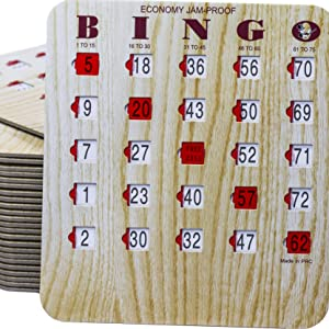 BINGO SHUTTER CARDS