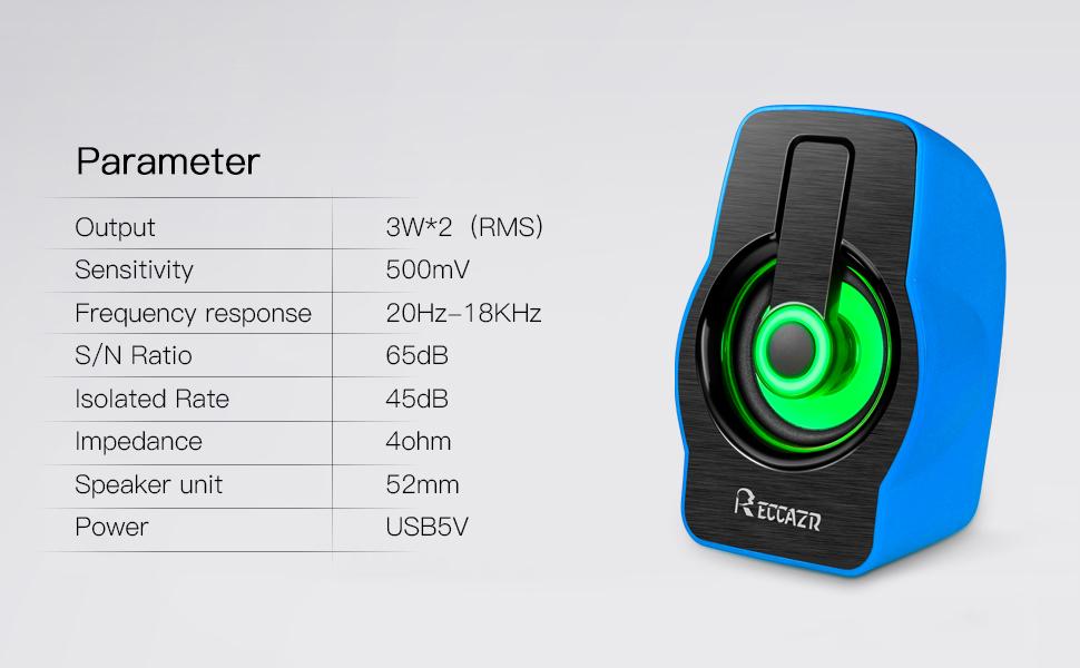 speakers parameter