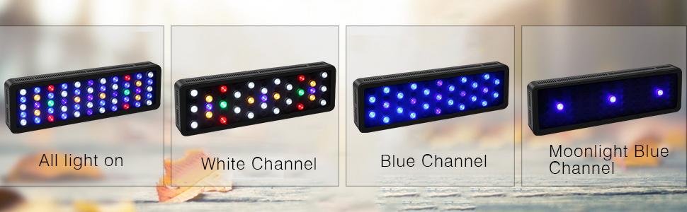 165w led aquatium light