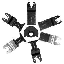 34mm Herramienta de corte de precisi/ón Disco de corte de cuchillas oscilantes para metal madera pl/ástico 3pcs Hojas de sierra oscilante multi herramienta hojas de sierra de 10mm 20mm