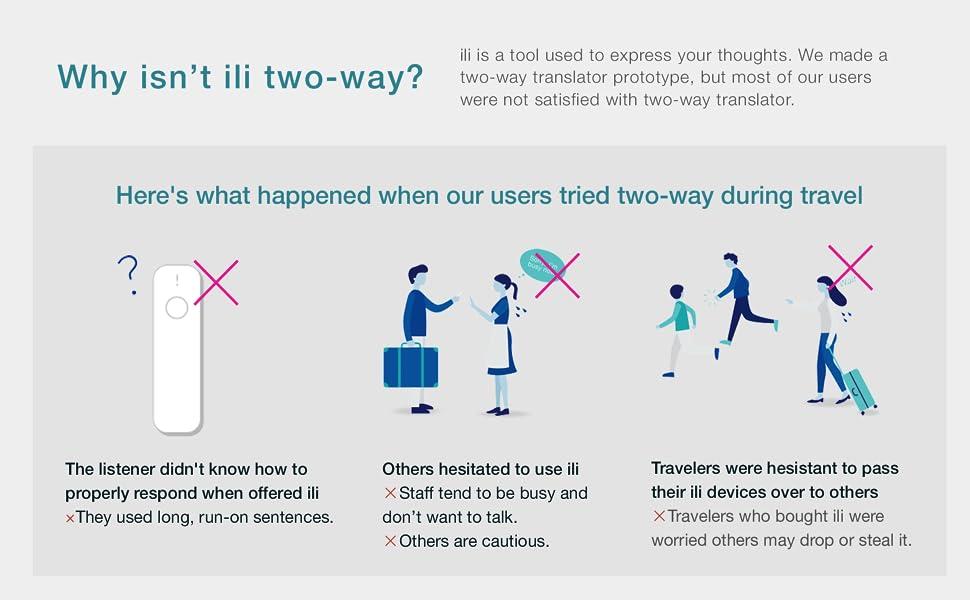 ili - Instant Offline Language Translator Device (One-Way Translator)
