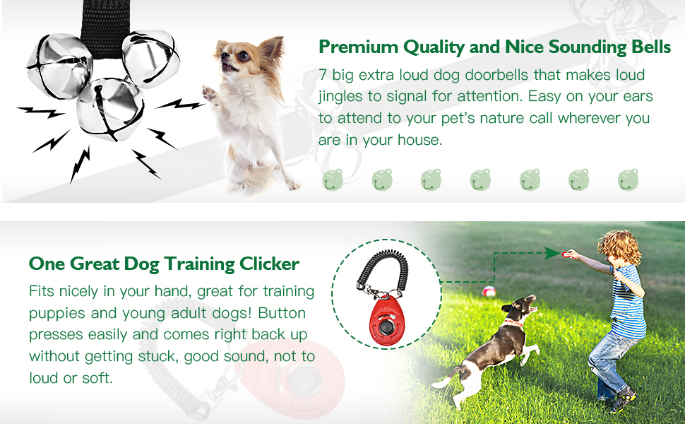 dog training bells for potty training