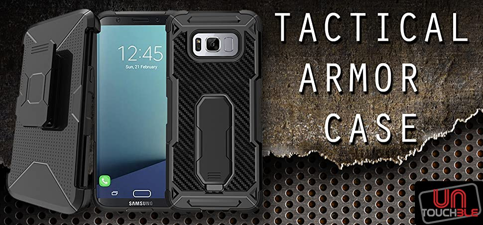 Amazon Com Tactical Armor Case For Samsung Galaxy S8