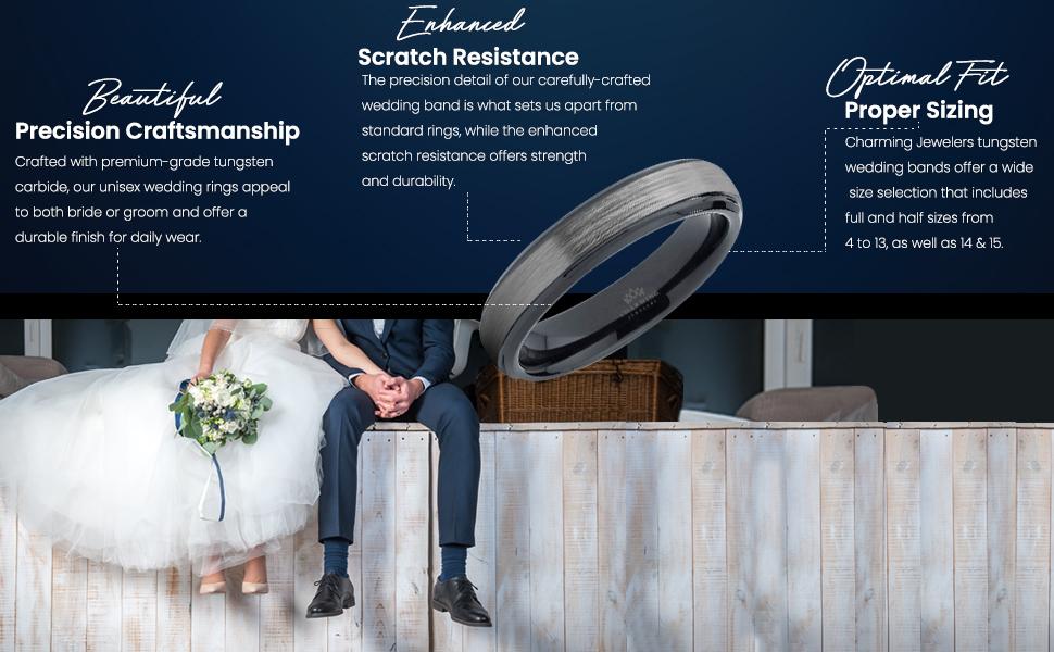 beautiful precision craftsmanship, enhanced scratch resistance, optimal fit proper sizing, comfort