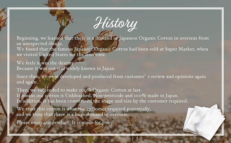 Amazon.com: 100 almohadillas de algodón orgánico japonés ...