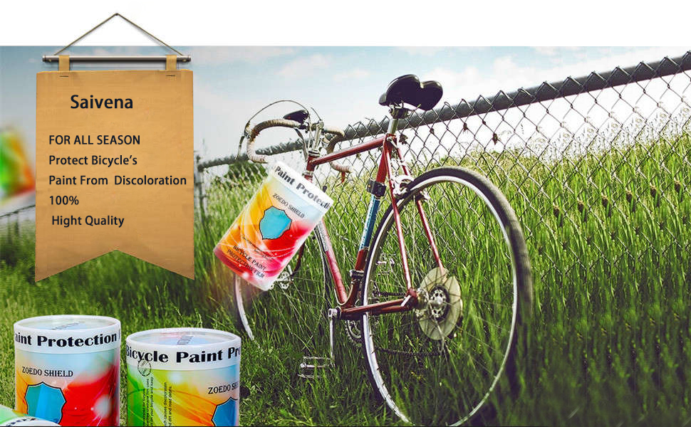 Hot Sales Scratch Protection Chain Posted Bicycle Frame Protective Sticker US