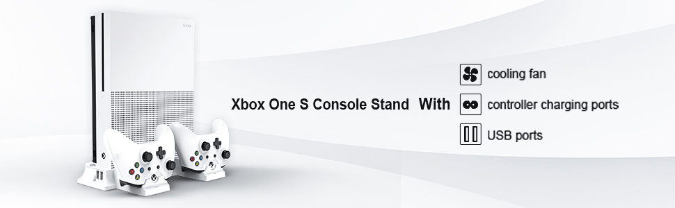 Cooling Systems Only Works for Xbox One S Console Roll Over