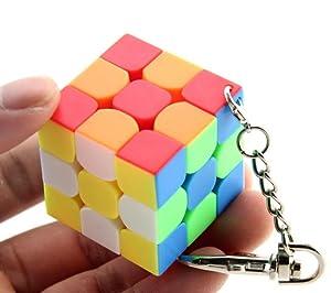 Amazon.com: cuberspeed cubing aula Moyu Mini llavero 3 x 3 ...