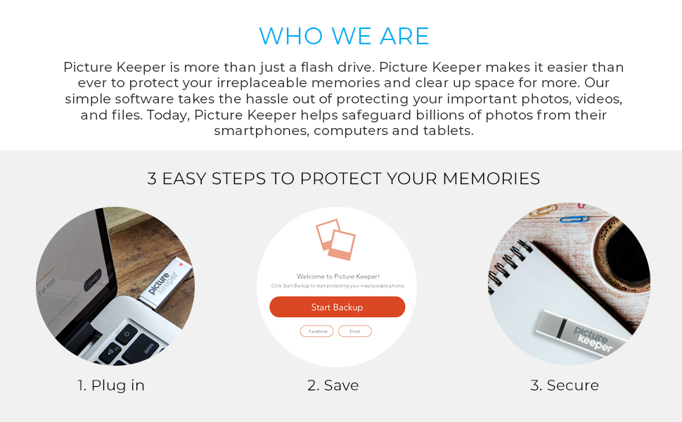 usb flash drive, photo backup, picture keeper, istick, iphotostick