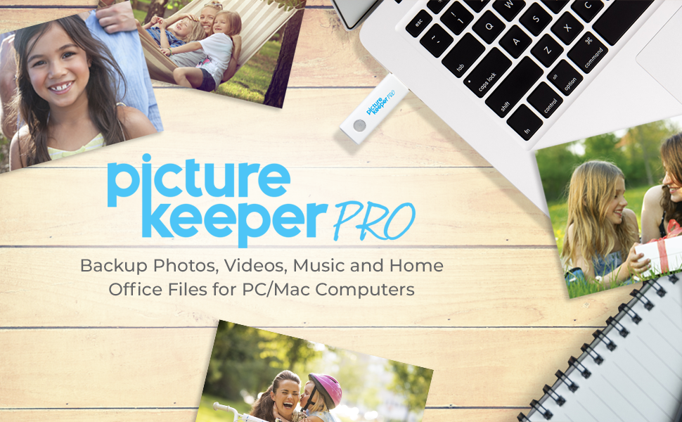Picture Keeper Pro 32GB, USB Flash Drive for Pros, USB, Flash
