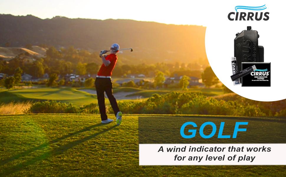 Amazon.com: Cirrus - Indicador de viento para golf con ...
