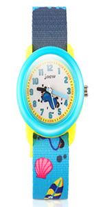Amazon.com: Girls Watch, Kids 3D Digital Sports Watch Water ...