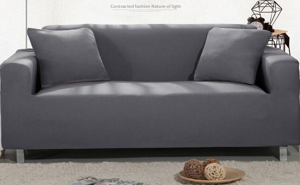 Amazon.com: TOPCHANCES Sofa Slipcovers, Four-Seater Sofa/XL ...