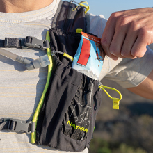 Nathan hydration vest with bladder for water running vest backpack