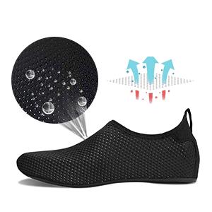 Comfortable aqua aerobics shoes