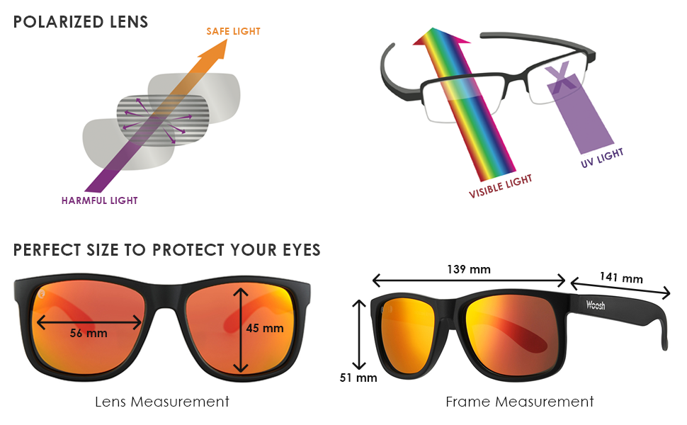 Amazon.com: Woosh Boho Style - Gafas de sol unisex ...