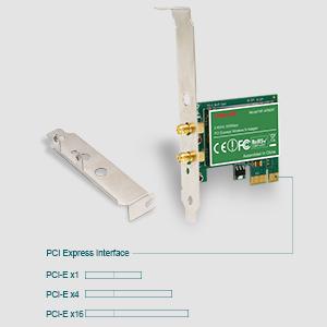 Amazon.com: lteriver 802.11 N – PCI Express (PCIe) adaptador ...