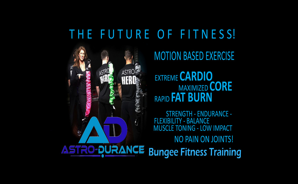 Amazon com : ASTRO-DURANCE Bungee Training Pro 240 Bungee