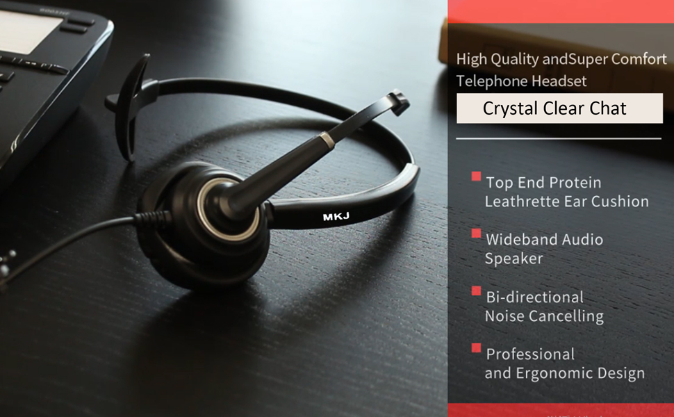 corded headset for office phones