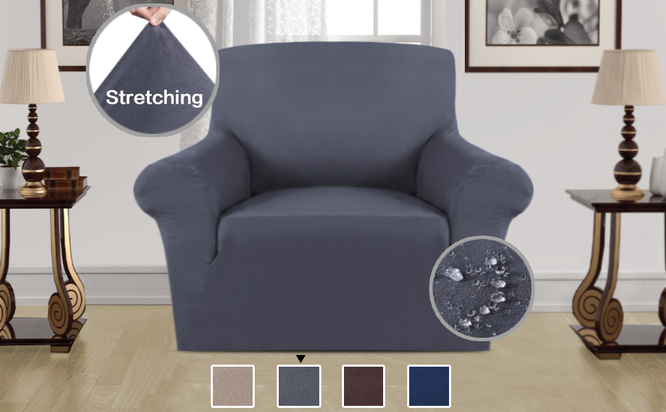 Groovy H Versailtex Sofa Cover Suede Fabric Plush Furniture Slipcover Stay In Place Velvet Plush Super Rich Sofa Cover Protector Skid Resistance Water Dailytribune Chair Design For Home Dailytribuneorg