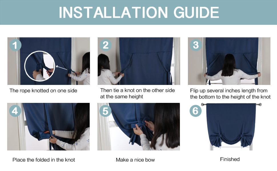 tie up curtains