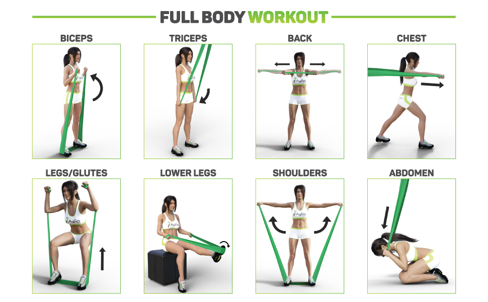 Image result for resistance bands workouts