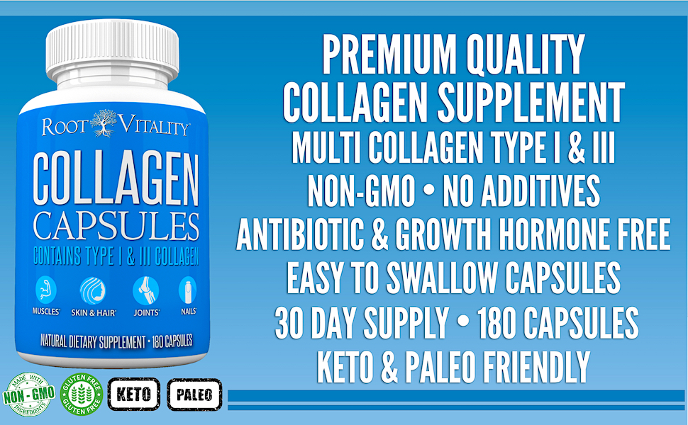 All the Benefits of Collagen Powder in a Capsule