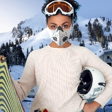 Anti-Pollution Dust mask Carbon Filters Exhalation Valve N99 N95 Face Respirator 3m