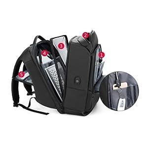 MOYOOE Anime Touken Ranbu Online Mikazuki Munechika Backpack Cosplay Laptop Bag Mochila