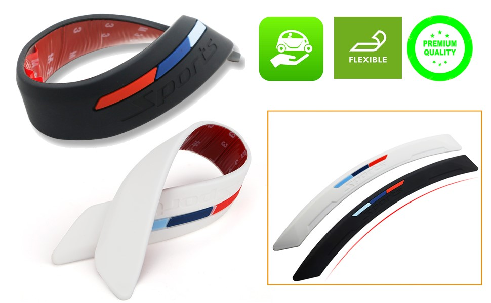 anti scratch anti ding anti dent side bumper guard protection car accessories automobile truck strip