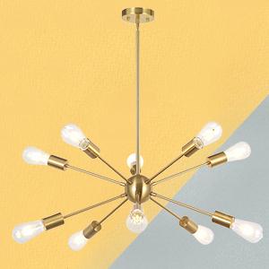 Sputnik Chandelier 10 Light