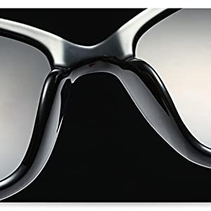a6e9dd5ed5df Amazon.com: FEISEDY New Oversized Cat Eye Glasses Frame Non ...