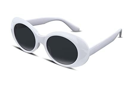 a80096fab7 Amazon.com  FEISEDY Candy Retro Acetate Black Frame Clout Goggles ...