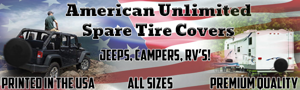 spare tire covers, jeep tire cover, jeep wrangler, jeep jl, rubicon, sahara,