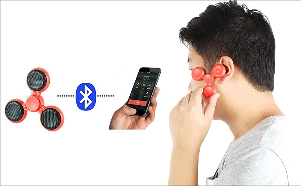 Unique new design, there is a HF microphone included, so that you could answer your cellphone