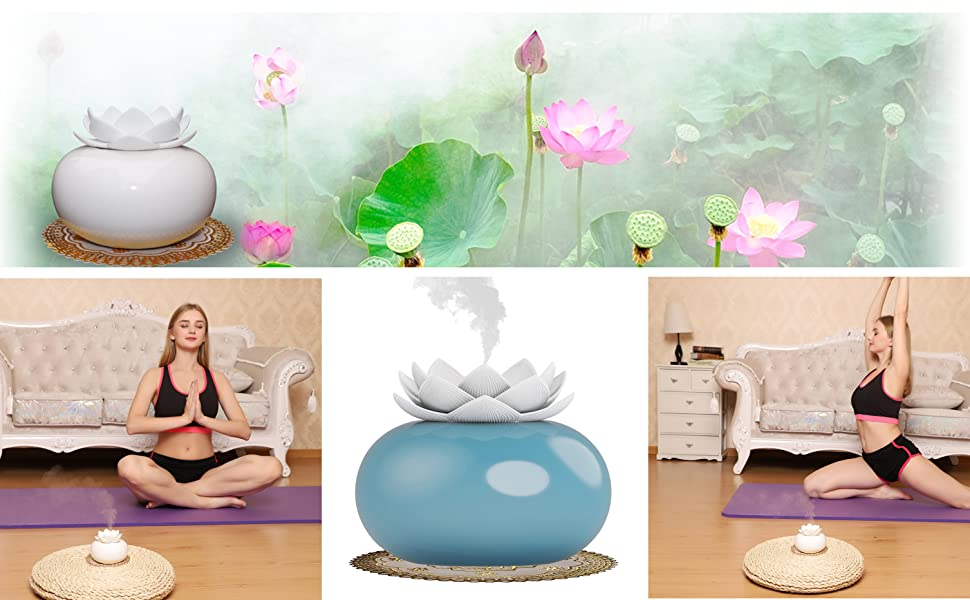 put it on your desk to bring you good mood, enjoy this cute humidifier with clean, fresh sweet air.