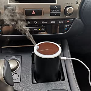 advanced technology which will release a smooth fragrant mist and pleasant scent to your car.