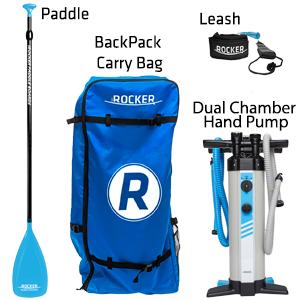 iROCKER Paddle Board Package Accessories