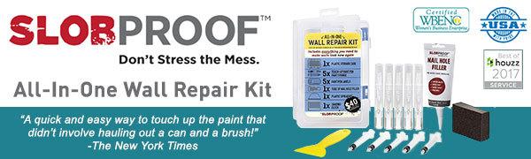 slobproof wall repair kit, ceiling repair kit