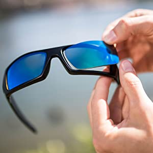 3ad7352cd55 Amazon.com  Revant Polarized Replacement Lenses for Electric ...