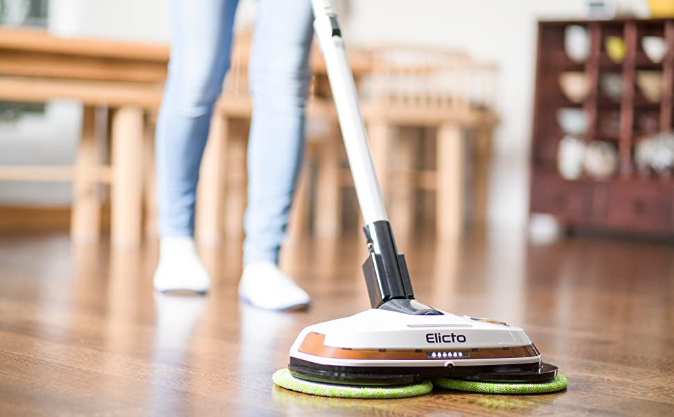 Gladwell Cordless Rechargeable Electric Mop Floor Cleaner