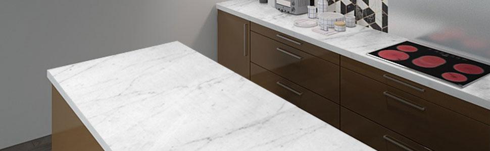Instant Granite Samples : Instant granite italian white marble counter top film