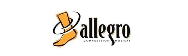 allegro compression hosiery