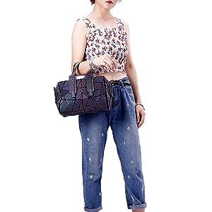 handbag  and purse luminesk crossbody bags for women