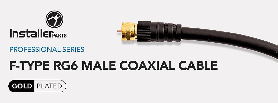 amazon com  installerparts coaxial cable f