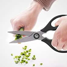 kitchen scissors heavy duty left hand use