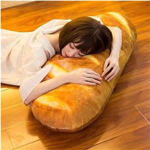 bread shape pillow soft