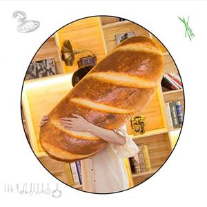 funny 3d simulation bread shape pillow
