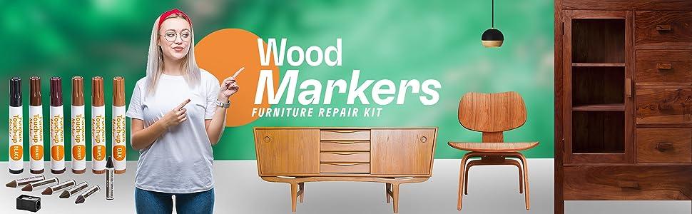 Amazon Com Furniture Repair Kit Wood Markers Set Of 13